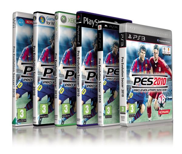 PES 2010, Konami actualizará gratis las plantillas tras los fichajes del mercado de invierno