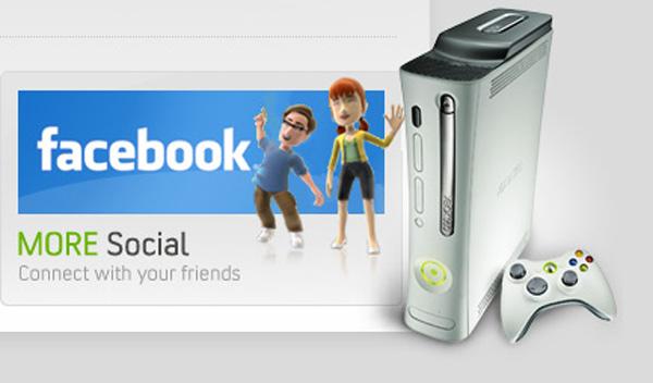 Facebook triunfa también a través de Xbox Live en la Xbox 360