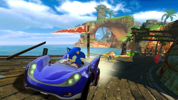 Sonic & Sega All Stars Racing, un juego de carreras con las estrellas de Sega