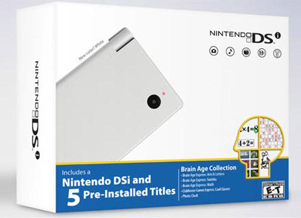 Nintendo lanzará mañana una Nintendo DSi con cinco juegos preinstalados en la consola