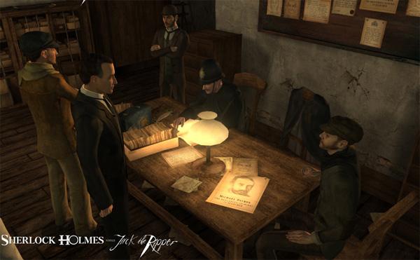 Sherlock Holmes vs. Jack el Destripador, aventura gráfica en la vieja Inglaterra