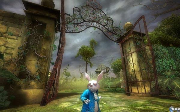 Alicia en el País de las Maravillas, la versión para Wii, PC y Nintendo DS de la adaptación de Burton
