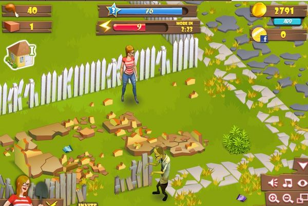 Zombie-Lane-en-Facebook-un-gran-juego-de-zombis-en-linea