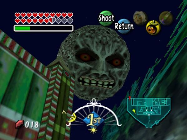 Zelda Majoras Mask En Espanol Para Project 64