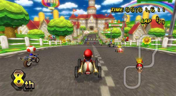 Juegos Mario Kart Wii y es Que en Mario Kart Wii