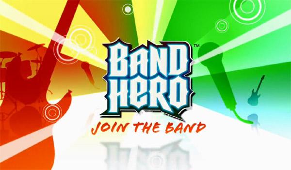 Band Hero, un nuevo juego musical orientado al público familiar