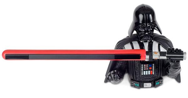 Vader Sensor Bar, un soporte galáctico para la barra de sensores de Wii