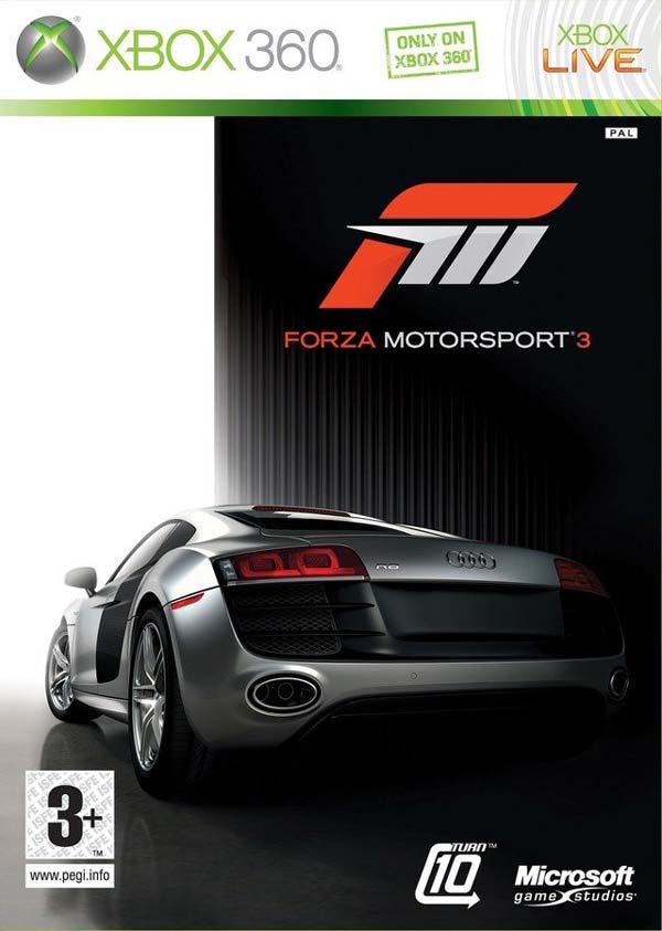 Forza Motorsport 3, el simulador de conducción exclusivo de Xbox 360