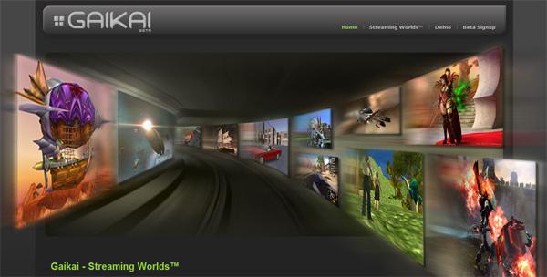 Gaikai, un portal web para jugar vía streaming a los últimos juegos