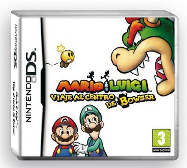 Mario & Luigi: Viaje al Centro de Bowser, un RPG con los dos fontaneros más famosos de Nintendo
