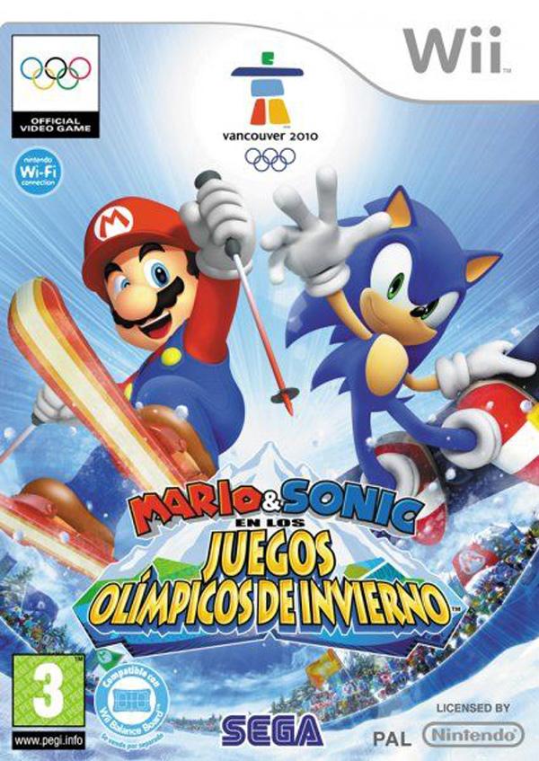 Mario y Sonic en los juegos Olímpicos de Invierno, multitud de minijuegos de deportes invernales