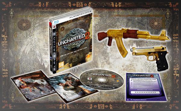 Uncharted 2: El Reino de los Ladrones, ahora también con edición coleccionista