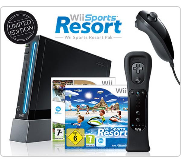 Wii Sports Resort Pak, la Wii se viste de negro en una edición especial para Europa