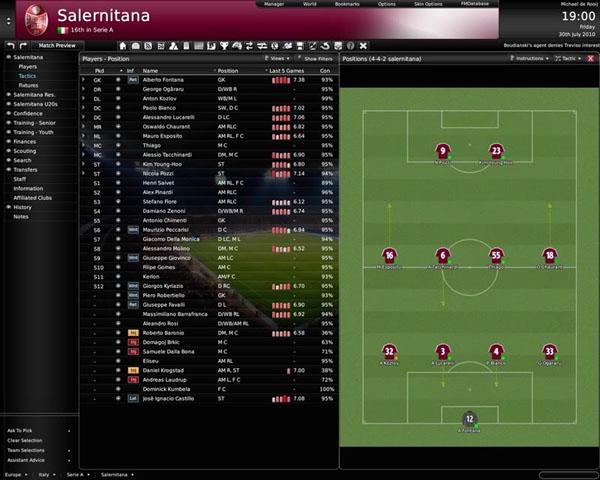 Football Manager 2010, el videojuego de gestión futbolística vuelve a saltar al césped
