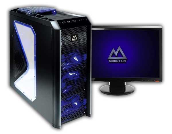 Mountain GTM 900, un PC para jugones muy completo y de alto rendimiento