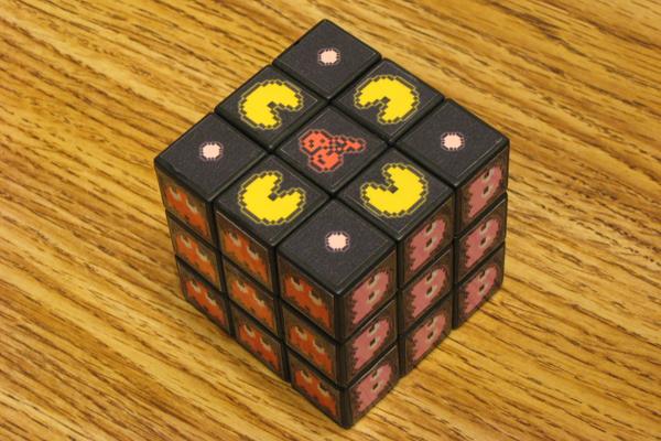 El cubo de Rubik de Pacman