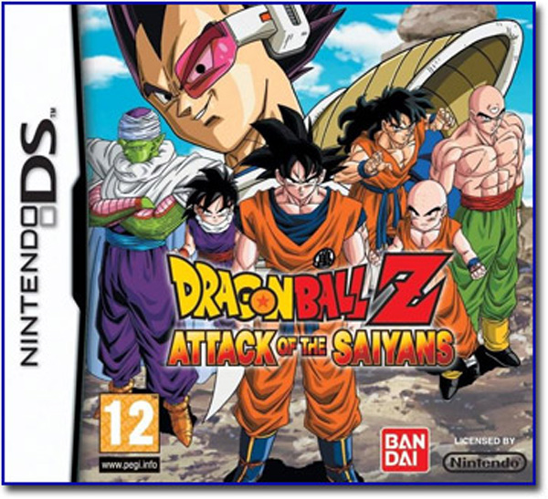 Dragon Ball Z: Attack of the Saiyans, un RPG fiel a la serie para NDS