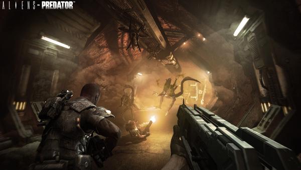 Alien vs Predator, acción a raudales que enfrenta a aliens y depredadores