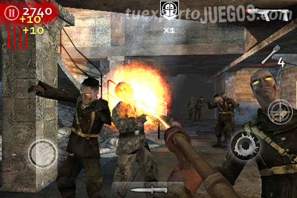 iPhone Call of Duty: World at War Zombies, descarga gratis el juego en iPhone y iPod Touch