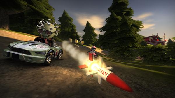 ModNation Racers, una mezcla entre Little Big Planet y Mario Kart