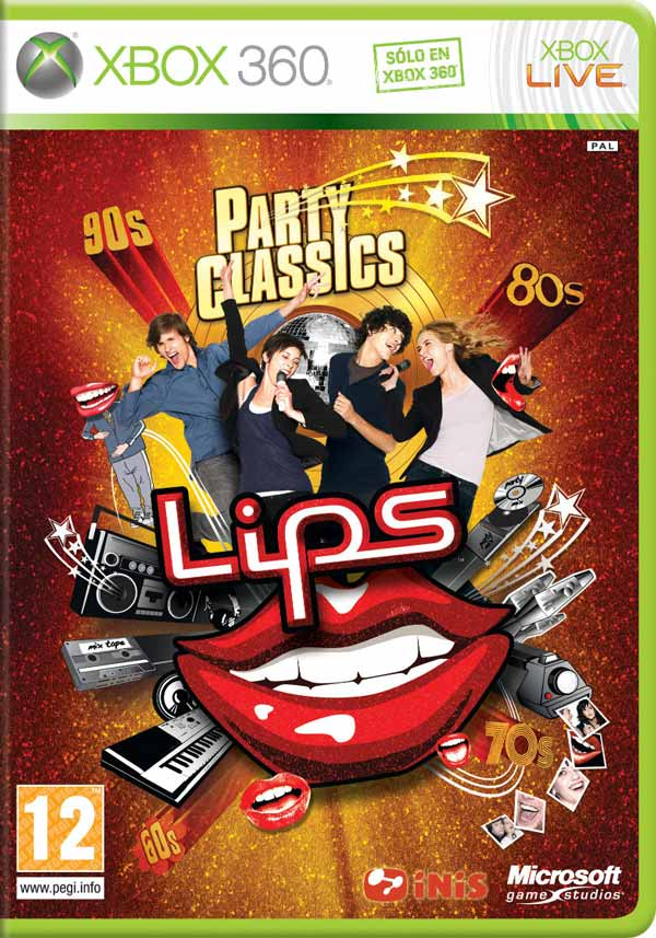 Lips: Party Classics, nueva entrega fiestera del karaoke de Xbox 360