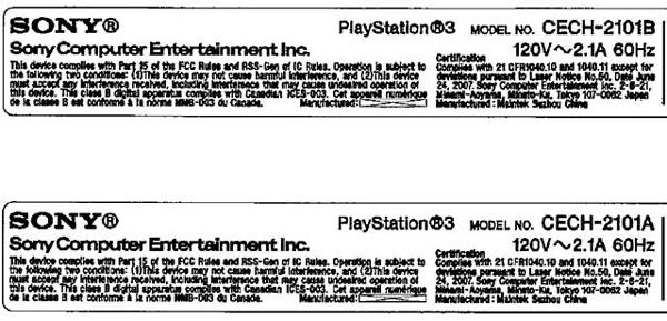 PlayStation-3-CECH-2101A-y-CECH-2101B