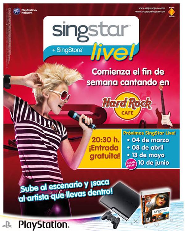 SingStar Live, la primera cita del concurso para cantar será el 4 de marzo en madrid
