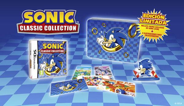 Sonic Classic Collection, la edición especial de Nintendo DS sólo se venderá en España