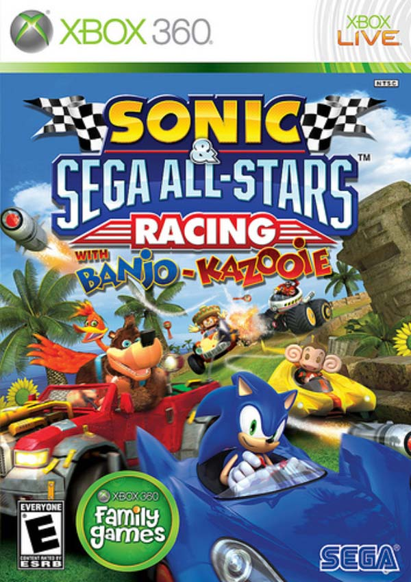 Sonic & Sega All-Stars Racing, descarga la demo en Xbox 360 del juego que sale el 26 de febrero