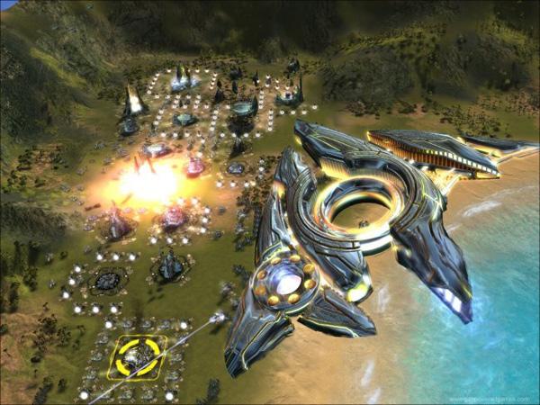 Supreme Commander 2, un juego de estrategia masivo y futurista