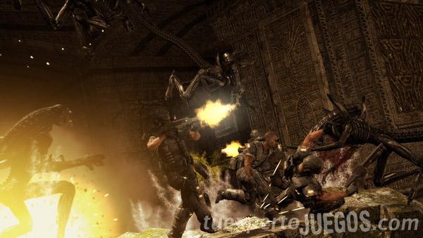 Aliens Vs Predator, descarga gratis la demo y disfruta con el nuevo tráiler del modo Plaga