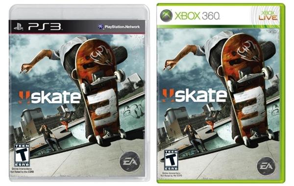 Skate 3, portada y nuevas imágenes del videojuego que llegará en verano