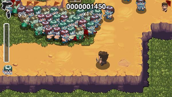 Age of Zombies, un divertido a la vez que simple juego de acción para PSP y PS3