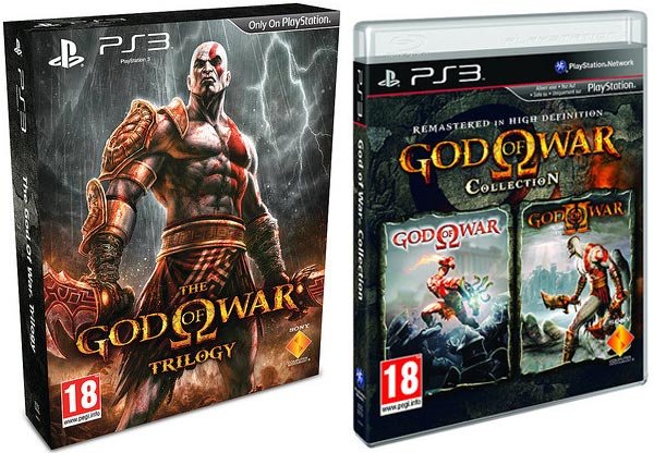 God of War Collection y God of War Trilogy, nuevas ediciones desde el 28 de abril