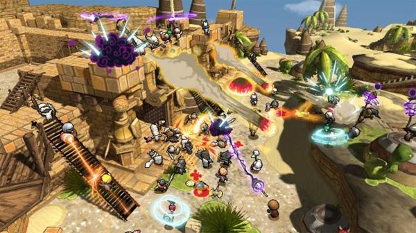 Happy Wars, un desternillante juego online con batallas de hasta 128 jugadores