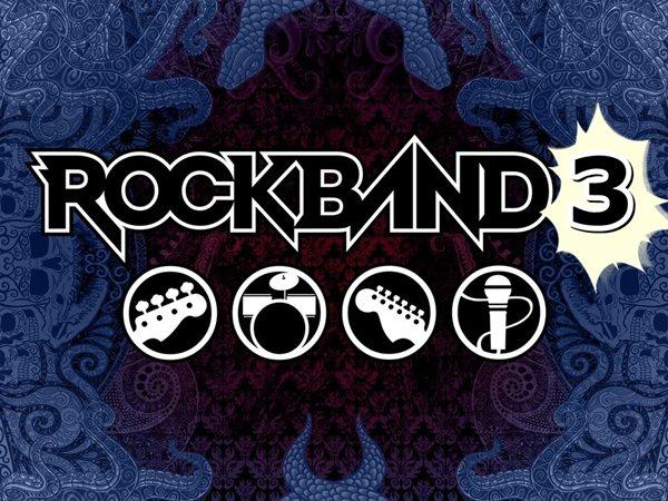 Rock Band 3 es confirmado oficialmente por Harmonix