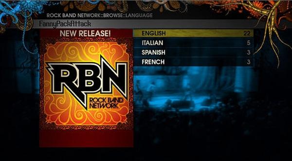 Rock Band Network, se acaba el periodo de pruebas y llegan nuevas canciones