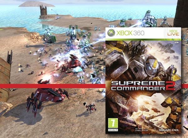 Supreme Commander 2, un vídeo nos explica los comandos en Xbox 360