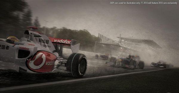 F1 2010, nuevas imágenes del simulador de fórmula 1 de Codemasters
