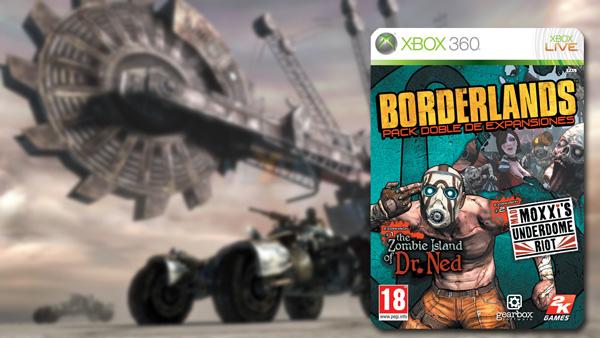 Borderlands Pack doble de expansiones, a la venta en disco las dos primeras ampliaciones