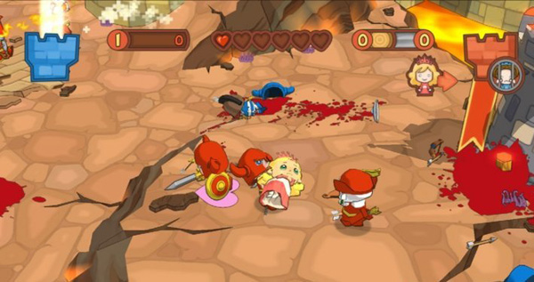 Fat Princess: Fistful of Cake, un divertido juego multijugador con toques de rol
