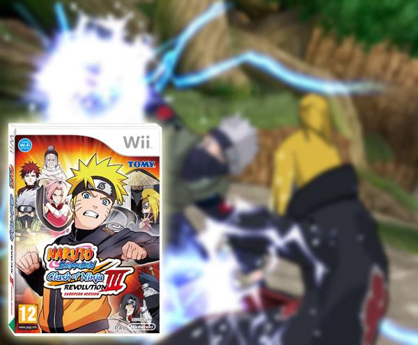 Naruto Clash of Ninja Revolution 3, Wii ya tiene nueva entrega de este juego de lucha