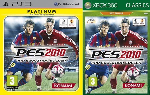 PES 2010, Classic y Platinum: fútbol más barato en Xbox 360 y PlayStation 3