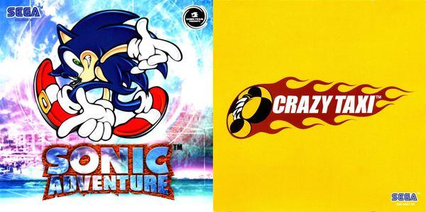Sonic Adventure y Crazy Taxi, dos clásicos que aterrizarán en Xbox 360
