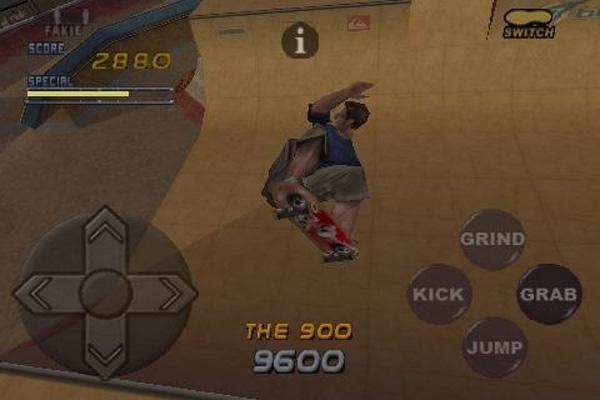 Tony Hawk's Pro Skater 2, ahora también disponible para el iPhone de Apple