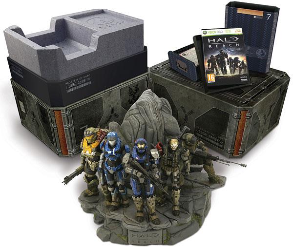 Halo: Reach, Xbox 360 tendrá tres ediciones, Standard, Limitada y Legendaria