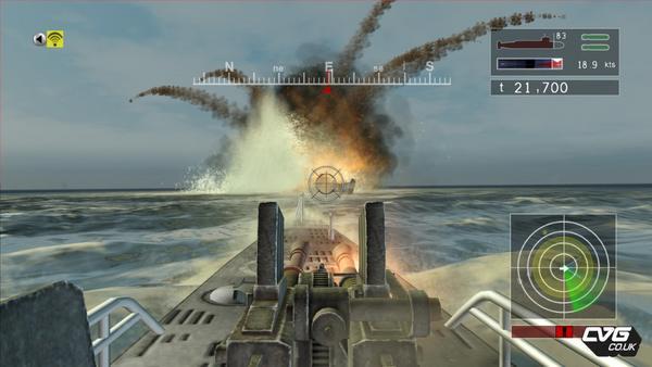 Naval Assault: Un nuevo juego de acción submarina exclusivo para Xbox360