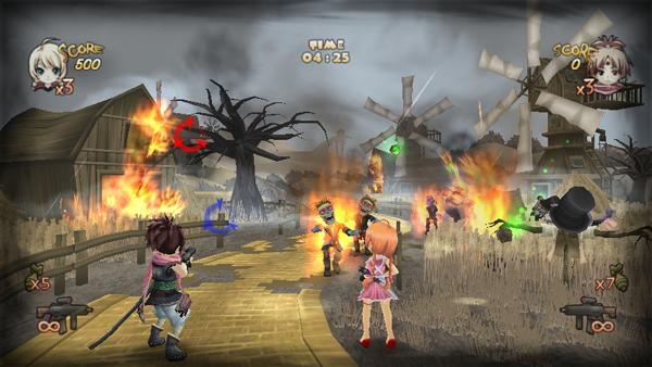 Zombie Panic in Wonderland, el juego español para Wii que triunfó en Japón llega a Europa