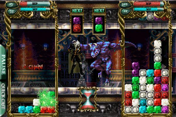 Castlevania Puzzle, un nuevo juego tipo tetris para iPhone y iPod Touch