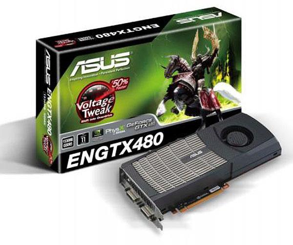 Asus ENGTX480 y ENGTX470, dos tarjetas gráficas de alto rendimiento para PC